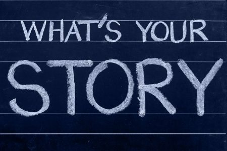 Whats Your Story Picture chalkboard-620316_1280